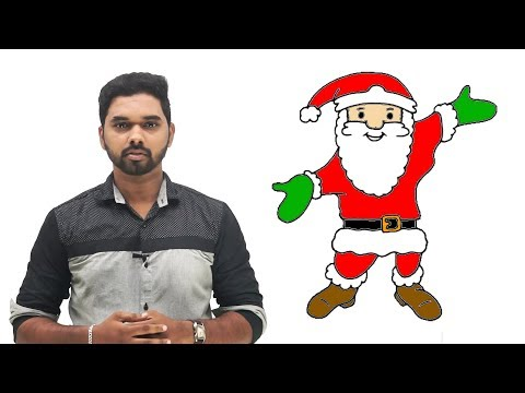 How to Draw Santa Claus Step by Step Easy | Santa Claus Drawing | Christmas drawings