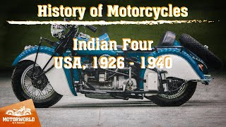 Indian Four | 1940, USA. Review & test-drive.