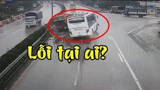 Vụ xe khách đâm xe cứu hỏa trên đường cao tốc: Sẽ xử lý trách nhiệm hình sự xe PCCC?