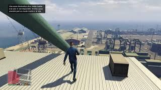 Grand Theft Auto V le saut de la mort