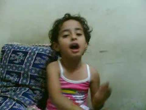 My Niece Recites Hindi Poem machli Jal Ki Raani Hai video