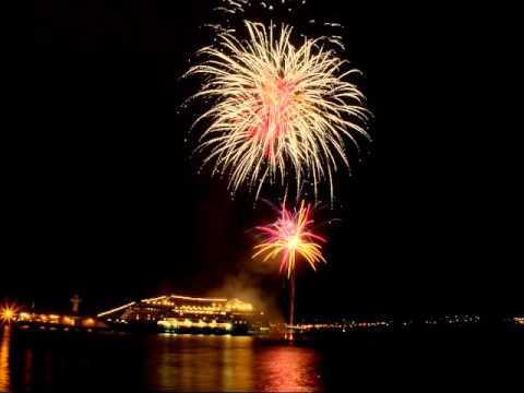 Azamara Quest Fireworks