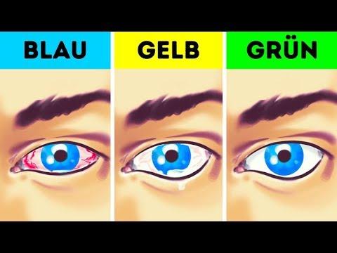 Es gibt eine Farbe, die deine Augen beschädigt