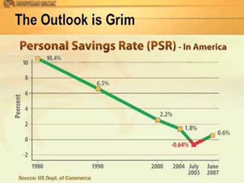 A Negative Savings Rate Darkens The Outlook