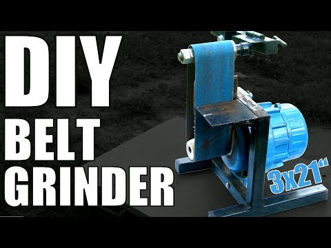 #15 Homemade Belt Grinder made from Trash DIY