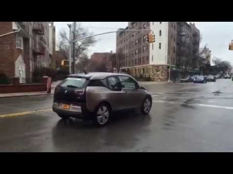 BMW i3 - electric self driving car