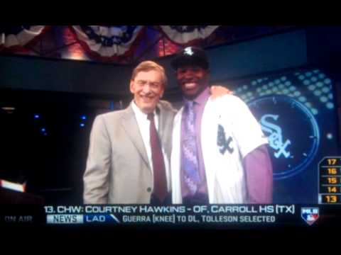 2012 MLB Draft - Courtney Hawkins - 1st round - White Sox