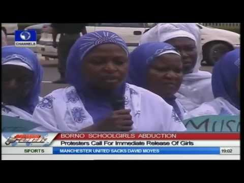 Borno Schoolgirls Abduction: Islamic Women Group Protest In Ilorin