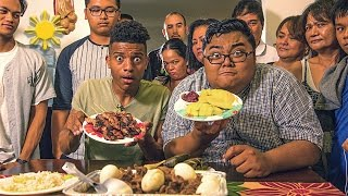 Authentic Filipino Food Taste Test
