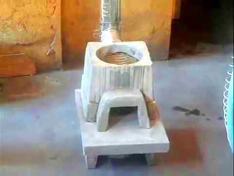 rocket stove (Philippines) setting up