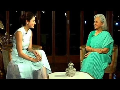 Anushka interviews legendary Waheeda Rehman for NDTV