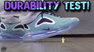 Nike Air Max 720 Durability Test! Is it Durable?