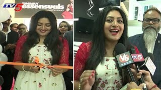 Actress Shanoor Sana Inaugurates Toni And Guy Essensuals Salon in Mehdipatnam