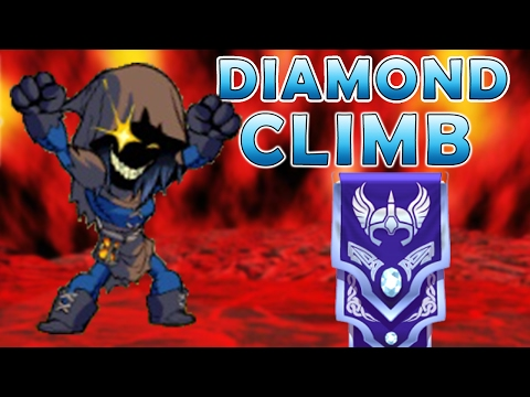 Nix To Diamond - Scythe And Guns Brawlhalla Gameplay