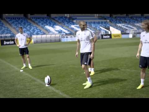 Игроки Реала - Мадрида творят, на тренировки фантастику