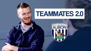 Saido Berahino: The biggest diva at West Brom 🙈 😂 |  Chris Brunt Teammates 2.0