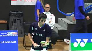18° Yonex Italian international - Qualificazioni, intervista a Fabio Caponio