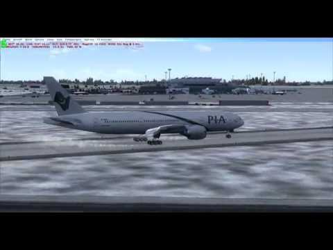 FSX WILCO 777 200 LR   PIA LANDING IN BUDAPEST LHBP HD  betttttttttttttttttttttttttttttttttttttter
