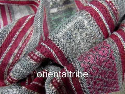 Vintage Laos textiles