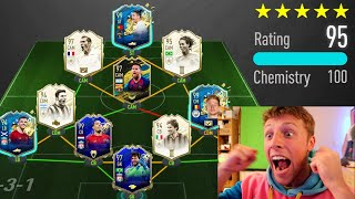 WORLDS FIRST 195 RATED FUT DRAFT!! - FIFA 20