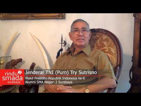 RINDU SMADA 2 SAMBUTAN SEMINAR JENDERAL TNI (PURN) TRY SUTRISNO...