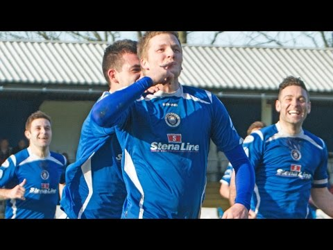 Gibson seals Stranraer win with magnificent long-range strike