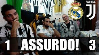 Real Madrid 1-3 Juventus. Highlights UCL 2018 Tifosi Juventini!! RIGORE SCANDALOSO! MP3