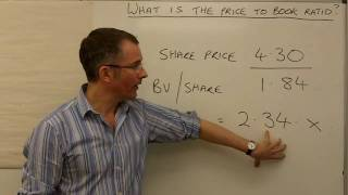 What is the price to book ratio? - MoneyWeek Investment Tutorials
