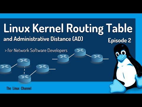 333 Linux Kernel Routing Table and Administrative Distance Episode2 for Network Software Developers