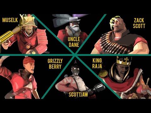 MvM With YouTubers #2 | Muselk, King Raja, Zack Scott, ScottJAw, Grizzly Berry & Uncle Dane