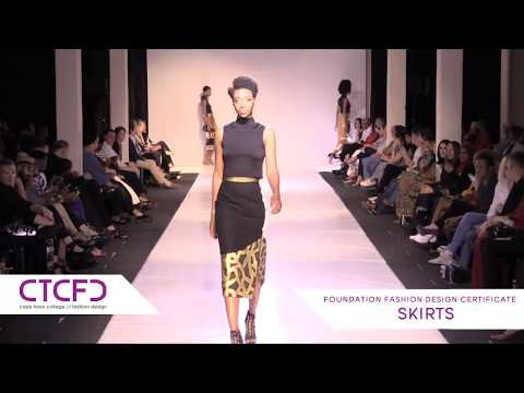 Skirts | 1 Year Foundation Fashion Design - CTCFD Fashion Show 2017