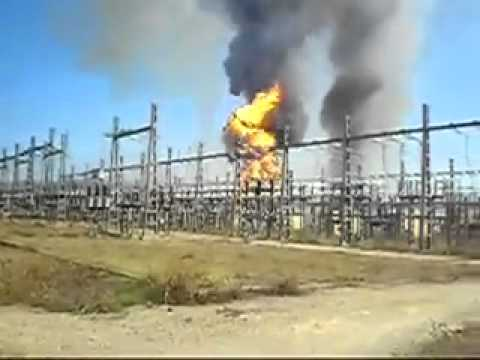 funny video The closure of the substation