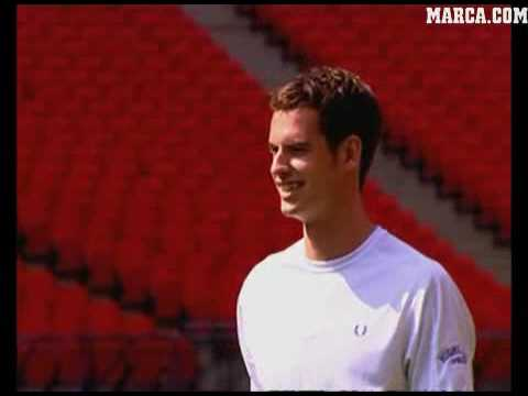 andy murray tennis serve. Andy Murray - tennis soccer
