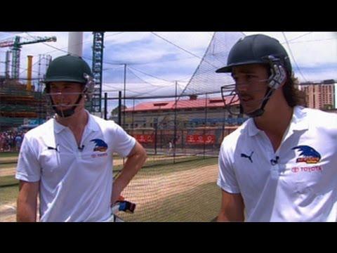 Brett Lee Vs Adelaide Crows video