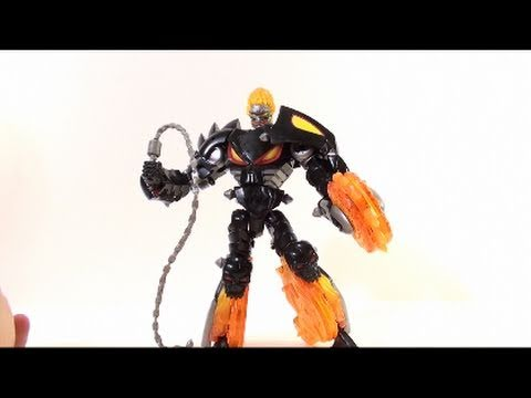 Video Review of the Transformers/Marvel Crossovers; Ghost Rider