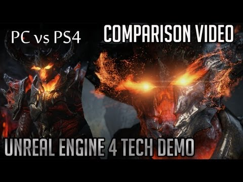 Unreal Engine 4 Comparison | PC vs PS4