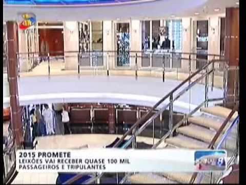 Cruzeiros no Porto de Leixões - TVI 1 nov 2014