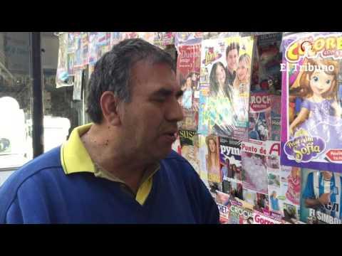 Inesperado conflicto entre los canillitas y la Municipalidad