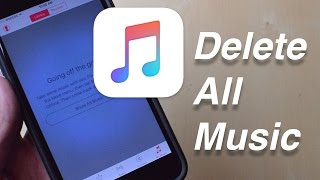 How to Delete All Music From Your iOS Device