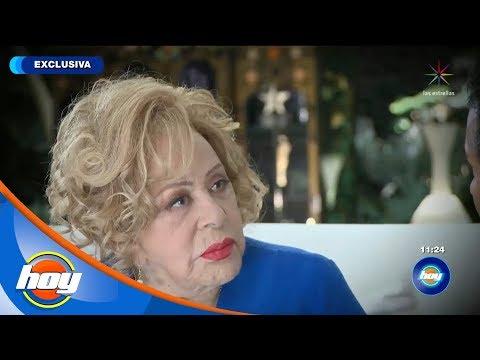 Silvia Pinal espera que su bioserie no ofenda a nadie   Hoy