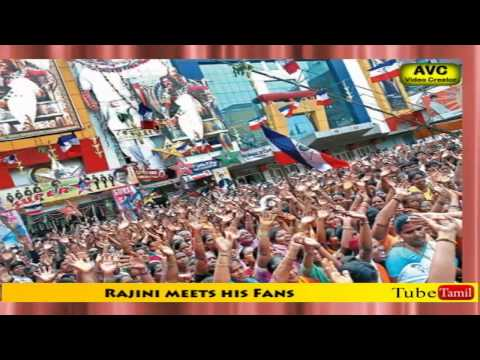 Rajini meets his Fans