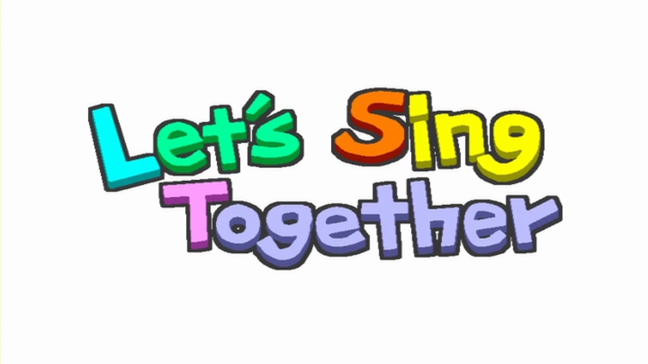 go  go  giggles let s sing together youtube sign clip art free sign clipart