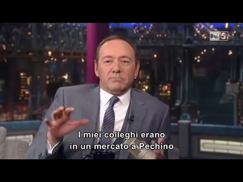 David Letterman - Kevin Spacey (sub ITA)