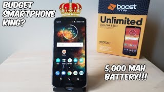 Motorola Moto E5 Plus Review (Boost Mobile) Phone of The Year? HD
