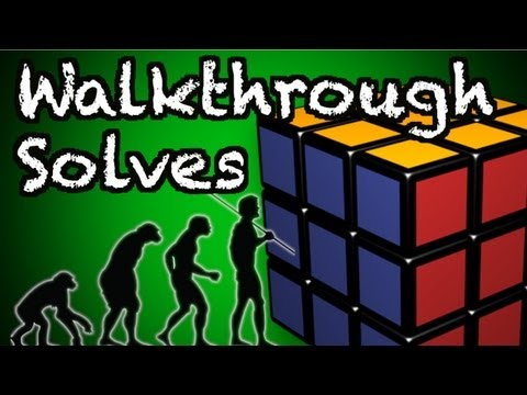How I Practice 3x3 Walkthrough Solves