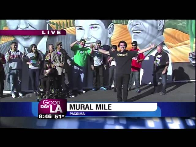 Out &amp; About: Pacoima&#039;s Mural Mile