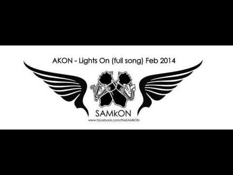 AKON - Lights On (full song) Feb 2014
