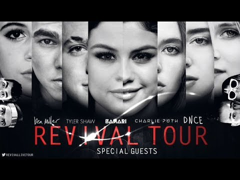 Selena Gomez - Revival Tour Dallas - FULL CONCERT