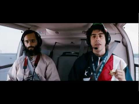 The Dictator - Helicopter Scene (hd) video