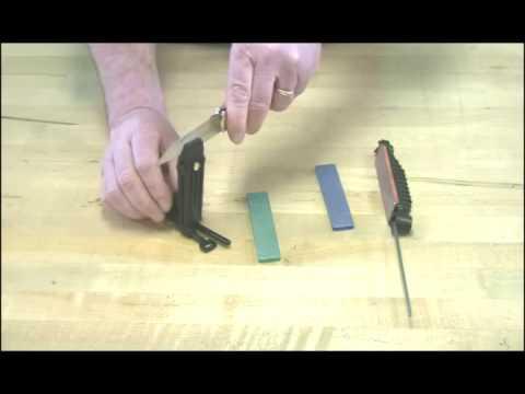 Video of DMT® Aligner Easy-Edge Guided Sharpening